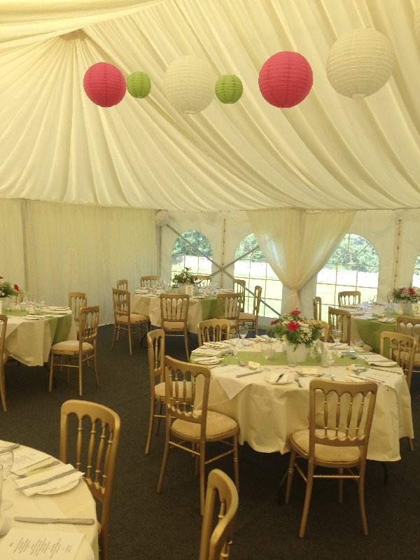 Marquee Hire Windermere, Cumbria
