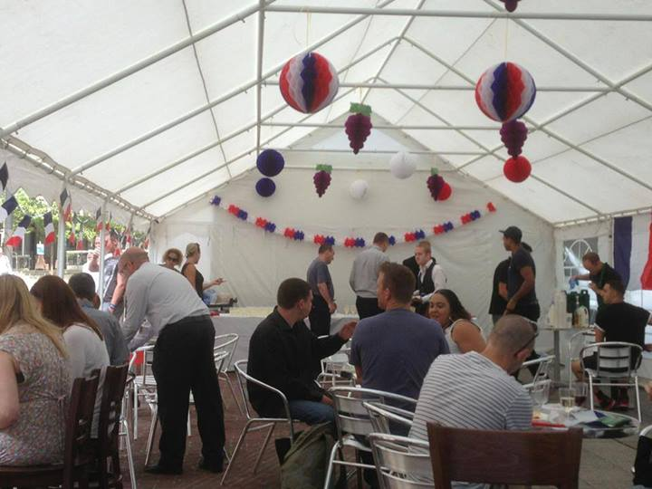 Manchester Marquee Hire Corporate Event