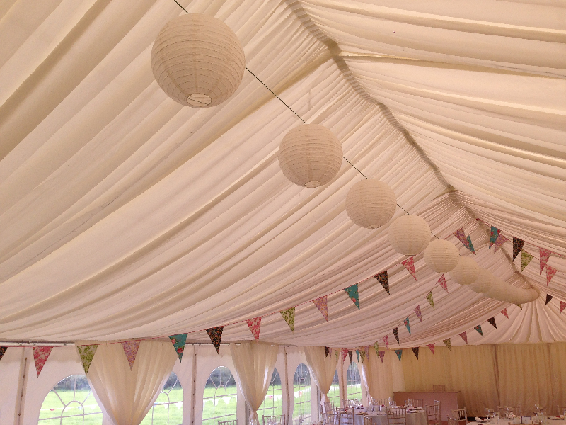 Decorated Marquee Cumbria