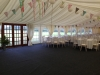 Wedding Marquee with Bunting